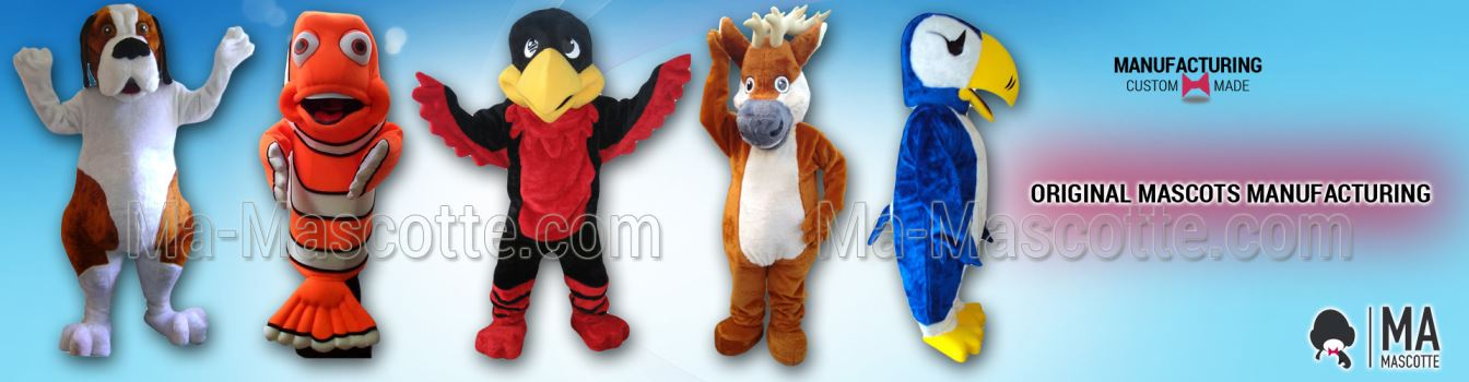 CUSTOM MADE MASCOT COSTUMES MANUFACTURNG ANIMAL OBJECTS CHARACTERS LOGO