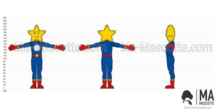 Création Graphique Sur Mesure personnage étoile (création graphique sur mesure).