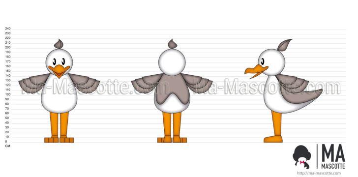 Création Graphique Sur Mesure mouette (création graphique sur mesure).