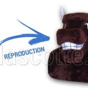 Fabrication Mascotte Sur Mesure taureau (mascotte animal sur mesure).