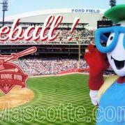 Fabrication Mascotte Sur Mesure balle de baseball (mascotte objet sur mesure).