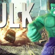 Fabrication Mascotte Sur Mesure Hulk (mascotte personnage sur mesure).