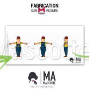 Fabrication Mascotte Sur Mesure LEON SAINE EURE (mascotte personnage sur mesure).