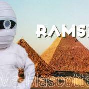 Fabrication Mascotte Sur Mesure momie (mascotte personnage sur mesure).