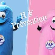 Custom Made condom Mascot Costume (custom made objet mascot).