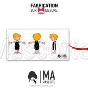 Fabrication Mascotte Sur Mesure basketball TOTO JSE (mascotte personnage sur mesure).