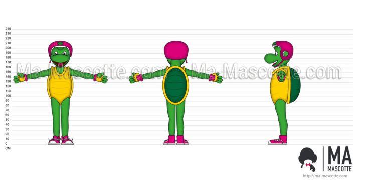 Custom Made Graphic Design turtle (custom made graphic design).