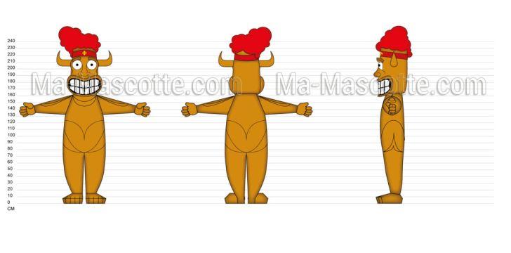 Custom Made Graphic Design totem (custom made graphic design).