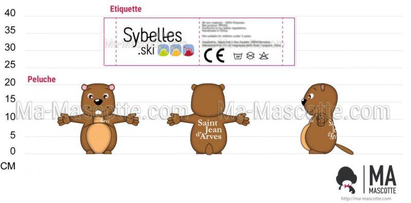 Création Graphique Sur Mesure marmotte SAINT JEAN ARVES (création graphique sur mesure).
