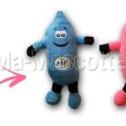 Custom Made Plush Toy condom HF PREVENTION (custom made objet plush toy).