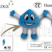 Custom Made Plush Toy character CROSSKNOWLEDGE (custom made personnage plush toy).