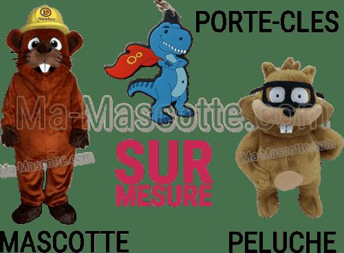 Fabrication Sur Mesure Mascotte, Peluches, Porte Clés (goodies sur mesure).