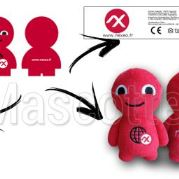 Custom Made Plush Toy character NEXEO (custom made character plush toy).
