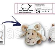 Custom Made Plush Toy sheep ISLE SAINT PIERRE (custom made animal plush toy).