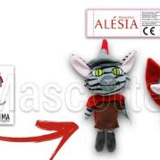 Custom Made Plush Toy cat ALESIA (custom made animal plush toy).