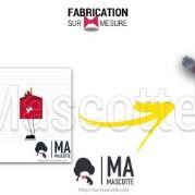 Fabrication Mascotte Sur Mesure happymeal MCDONALD (mascotte objet sur mesure).
