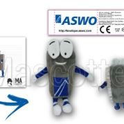 Custom Made Plush Toy microprocessor ASWO (custom made character plush toy).
