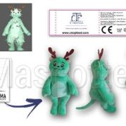 Custom Made Plush Toy monster CTROPFOOD (custom made animal plush toy).