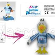 Custom Made Plush Toy bird MARSEILLE (custom made animal plush toy).