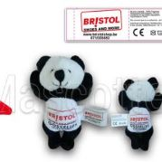 Custom Made Plush Toy panda BRISTOL (custom made animal plush toy).