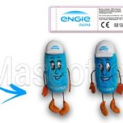 Custom Made Plush Toy character ENGIE (custom made character plush toy).