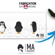 Custom Made penguin TOUPARGEL Mascot Costume (custom made animal mascot).
