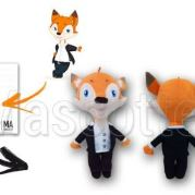 Custom Made Plush Toy fox BOOND MANAGER (custom made animal plush toy).
