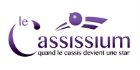 Customer Logo CASSISSIUM (Ma Mascotte - custom made manufacturing of mascot and plush toys).