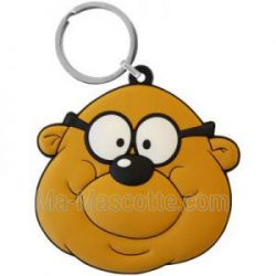 Custom Made PVC personnage Keychains (custom made keychain).