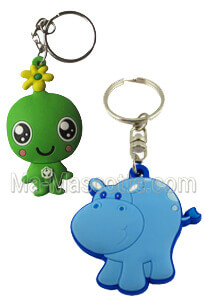 Custom Made PVC 2D 3D Keychains (custom made keychain).