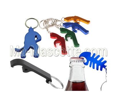 Fabrication Porte-Clés Sur Mesure décapsuleur (porte clés sur mesure).