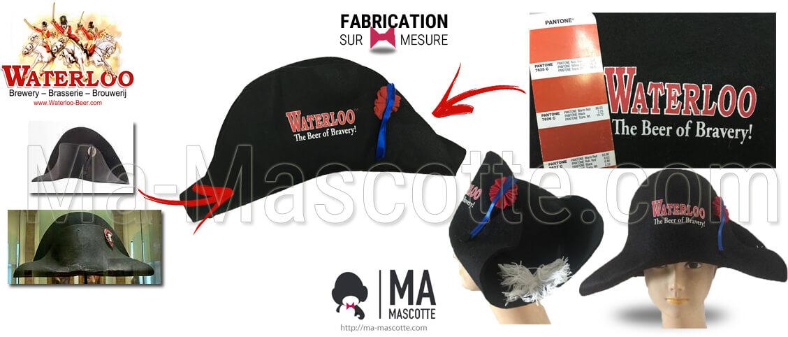 Fabrication Objets Publicitiaire Sur Mesure CHAPEAU WATERLOO (goodies sur mesure).