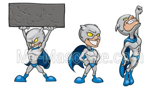 Custom Made Graphic Design super hero (custom made graphic design).