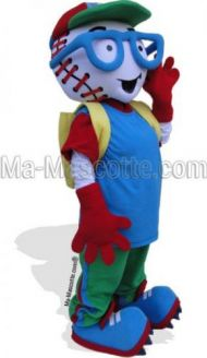 Custom Made baseball Mascot Costume (custom made character mascot).
