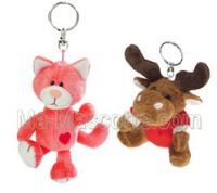 Custom Made plush Keychains (custom made keychain).