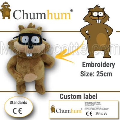 Custom Made Plush Toy racoon CHUMHUM (custom made animal plush toy).
