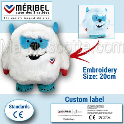 Custom Made Plush Toy yeti YOONI (custom made animal plush toy).