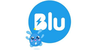 Customer Logo BLU (Ma Mascotte - custom made manufacturing of mascot and plush toys).