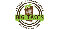 Customer Logo BIG TACOS (Ma Mascotte - custom made manufacturing of mascot and plush toys).
