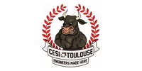 Customer Logo CESI TOULOUSE (Ma Mascotte - custom made manufacturing of mascot and plush toys).