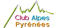 Customer Logo CLUB ALPES PYRÉNÉES (Ma Mascotte - custom made manufacturing of mascot and plush toys).