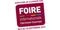 Customer Logo FOIRE INTERNATIONALE DE CLERMONT-COURNON (Ma Mascotte - custom made manufacturing of mascot and plush toys).