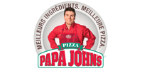 Customer Logo PAPA JOHN'S (Ma Mascotte - custom made manufacturing of mascot and plush toys).