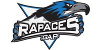 Customer Logo RAPACES GAP (Ma Mascotte - custom made manufacturing of mascot and plush toys).