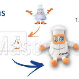 Custom Made Plush Toy laboratory EUROFINS (custom made object plush toy).
