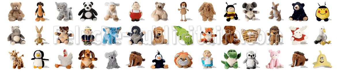 Advertising plush, plush to customize