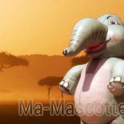 Fabrication Mascotte Sur Mesure Éléphant (mascotte gonflable sur mesure).