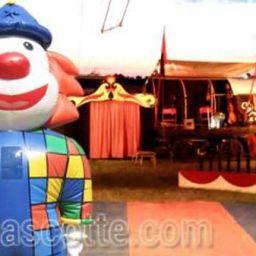 Custom Made Clown Mascot Costume (custom made inflatable mascot).