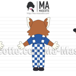3D Design Custom Mascot Fox. Graphic Design Mascot