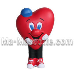 Heart Custom Stress Foam Manufacturing. Cutomized stress foam shape.